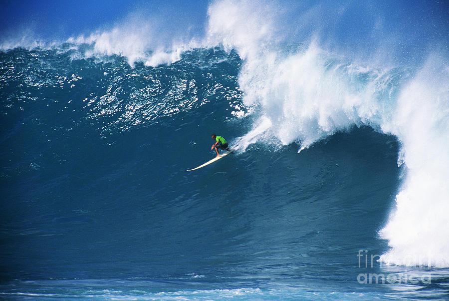 Adrenaline Photograph - Noah At Waimea by Vince Cavataio - Printscapes