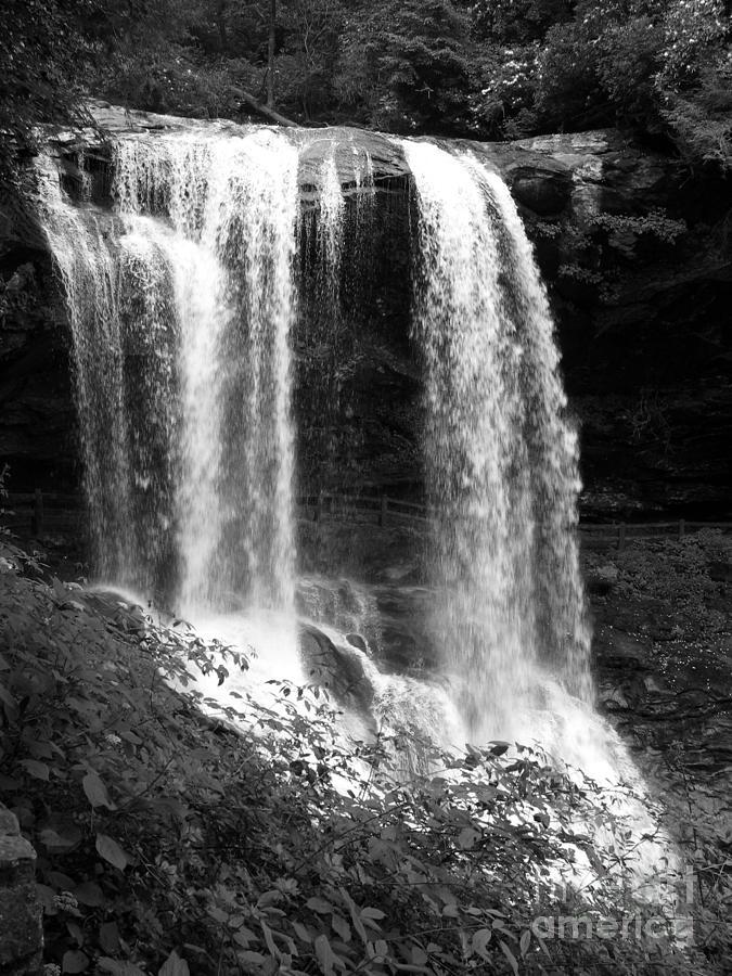 Waterfall Photograph - North Carolina Dark Falls by Julian Bralley