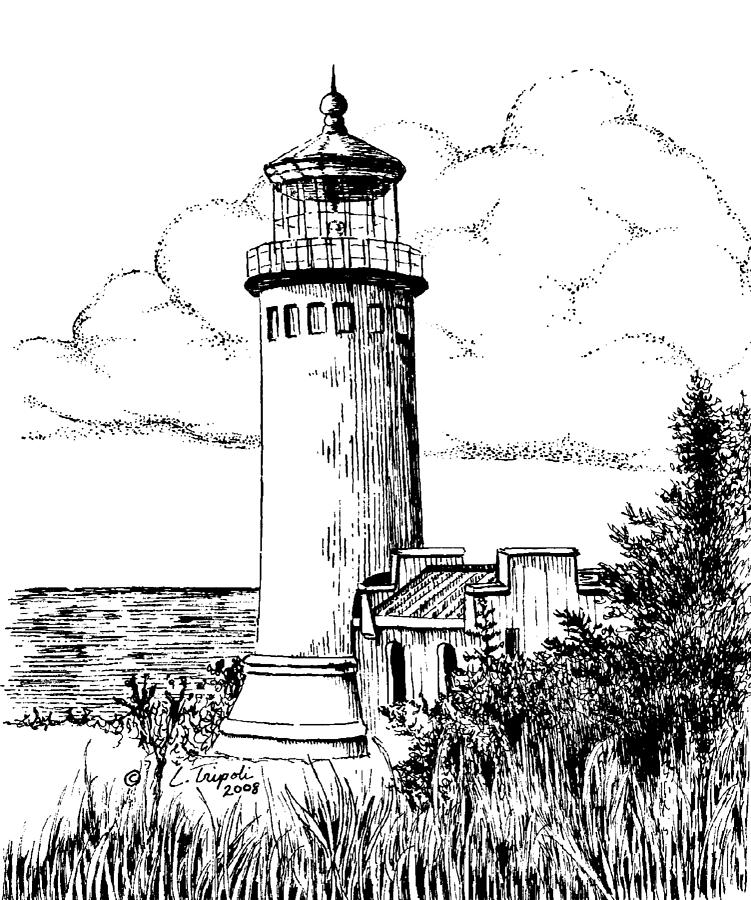 Cape Hatteras Lighthouse Drawing at GetDrawings   Free ...   Cape Fear Lighthouse Line Drawing