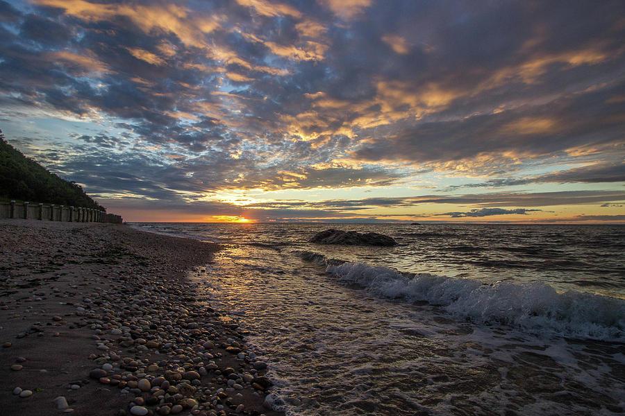 North Shore Long Island Sunset Photograph