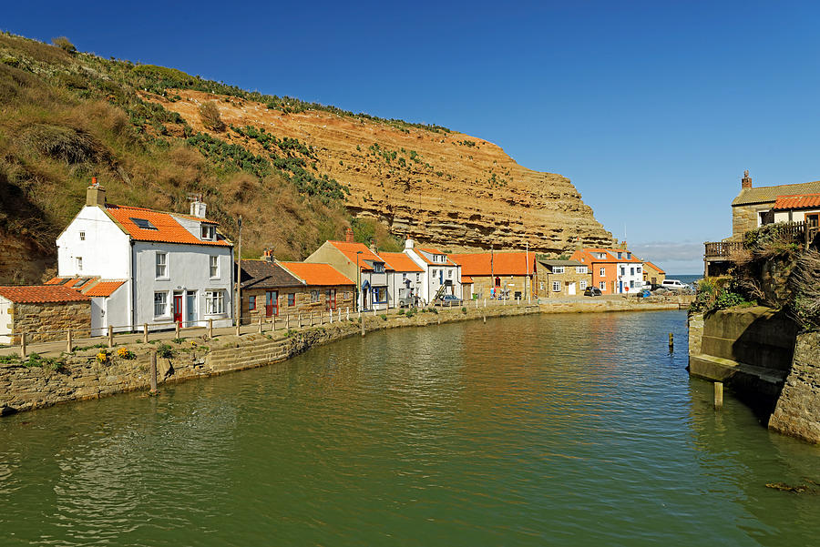 North Side And Staithes Beck Photograph