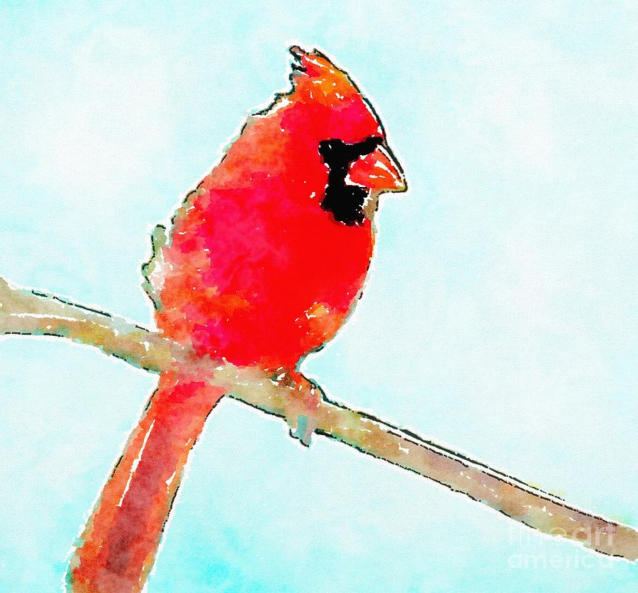 Northern Cardinal Painting