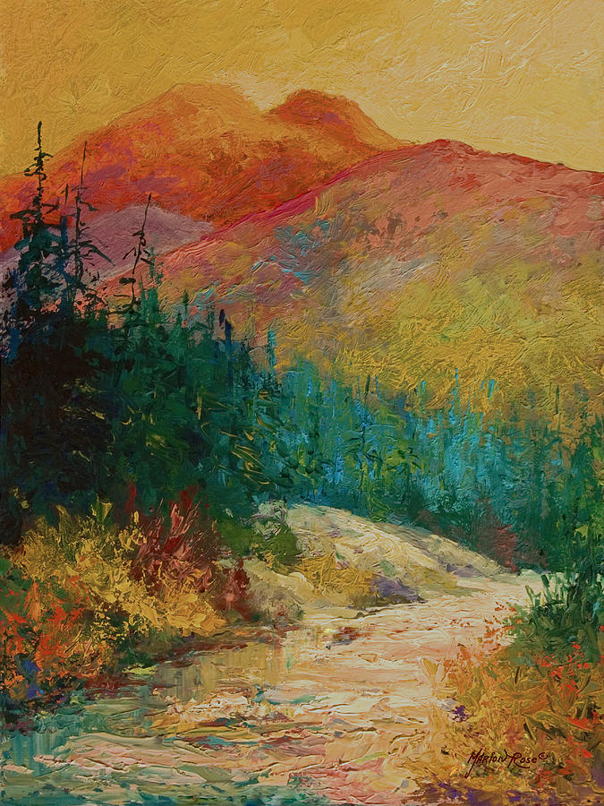 Alaska Painting - Northern Essence  by Marion Rose