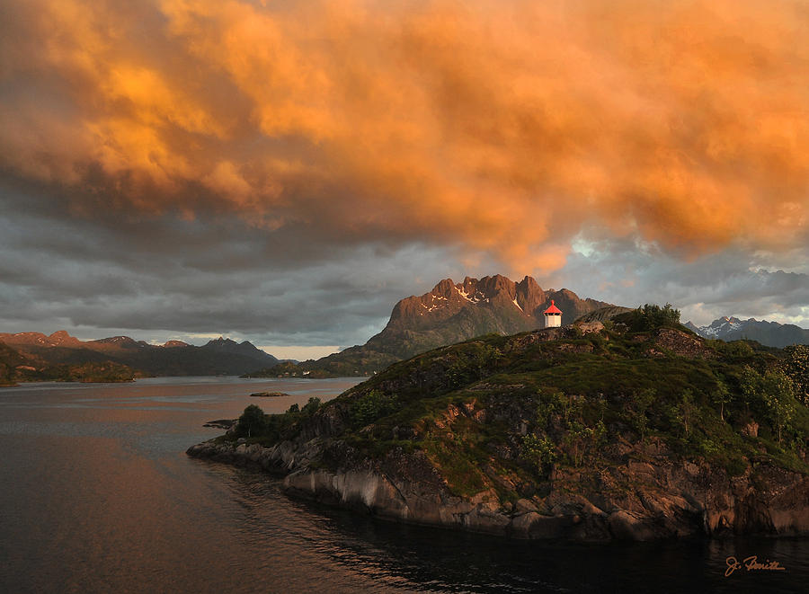 Norway Photograph - Norwegian Coast No. 6 by Joe Bonita