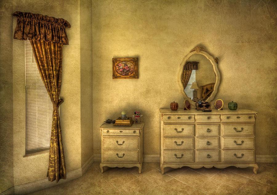 Room Photograph - Nostalgic Harmonies  by Evelina Kremsdorf