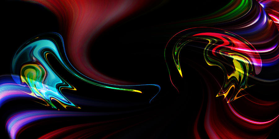 Abstract Photograph - Not Talking by Terril Heilman