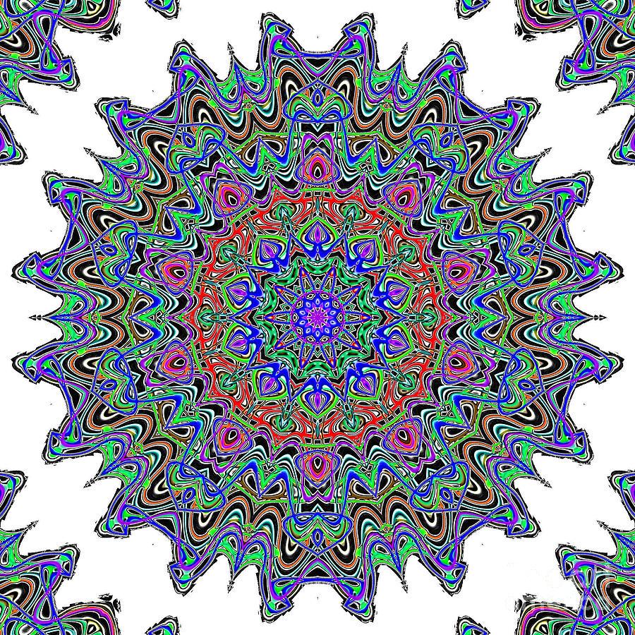 Nuclear Cell Digital Art