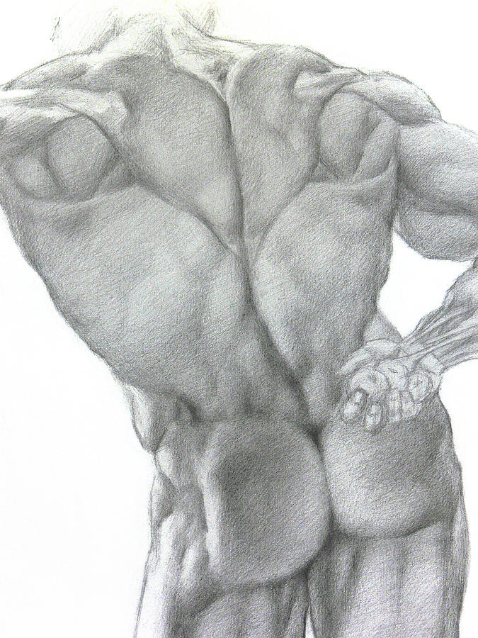 Nude Drawing - Nude 2a by Valeriy Mavlo