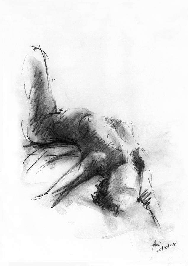 Nude Drawing - Nude 4 by Ani Gallery