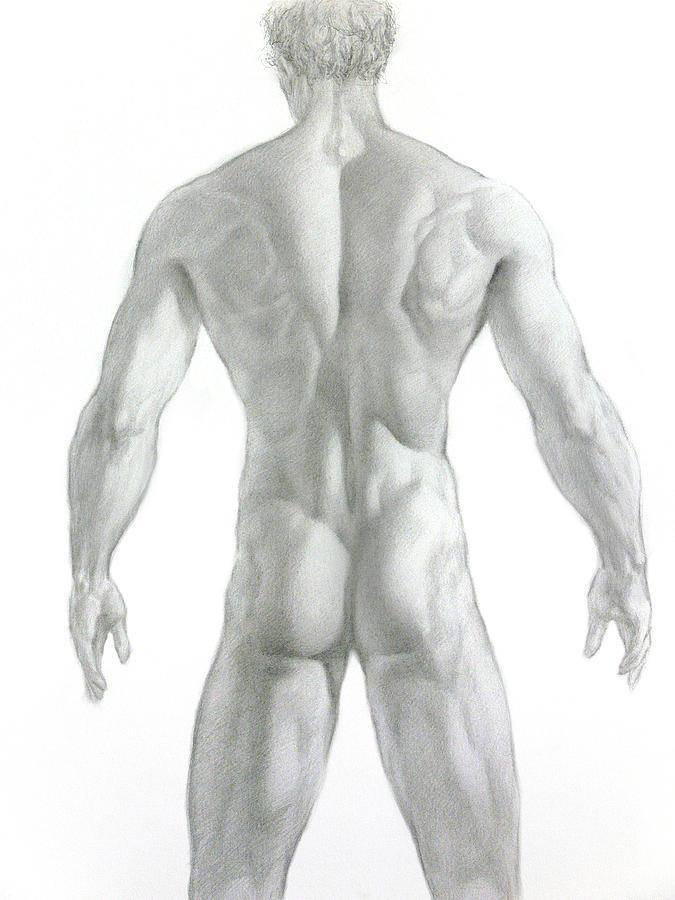 Nude Drawing - Nude 7 by Valeriy Mavlo