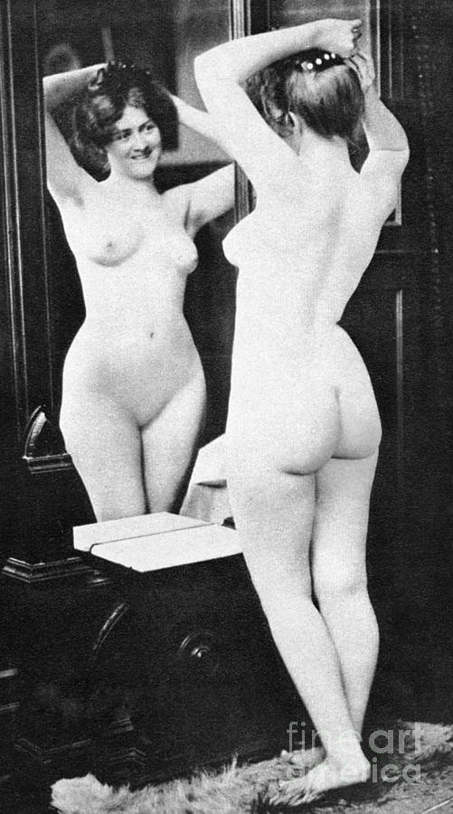 nude fine art mirror