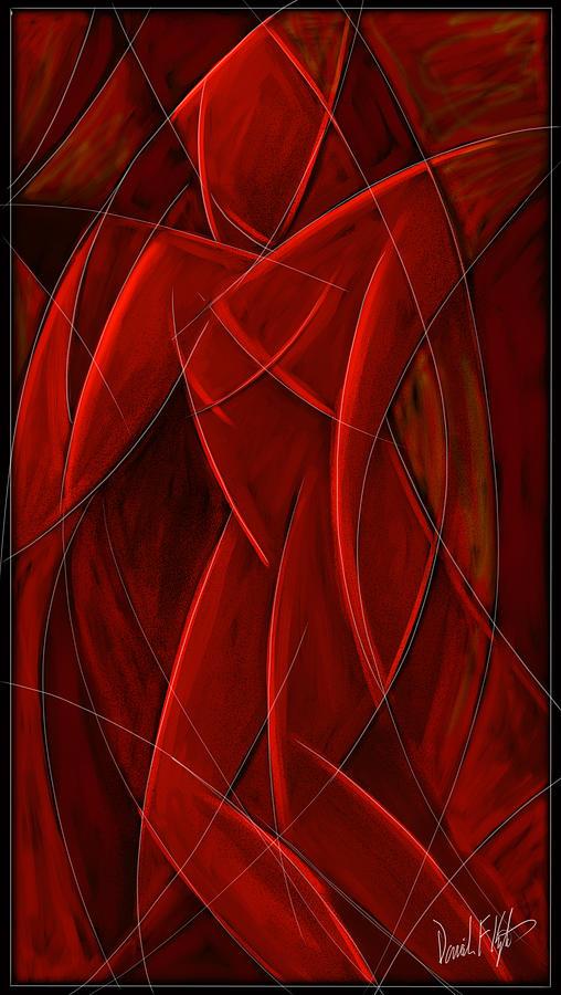 Nude Painting - Nude Dancer by David Kyte