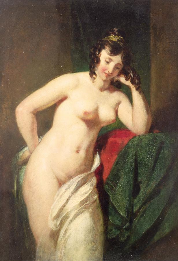 Nude Painting - Nude by William Etty