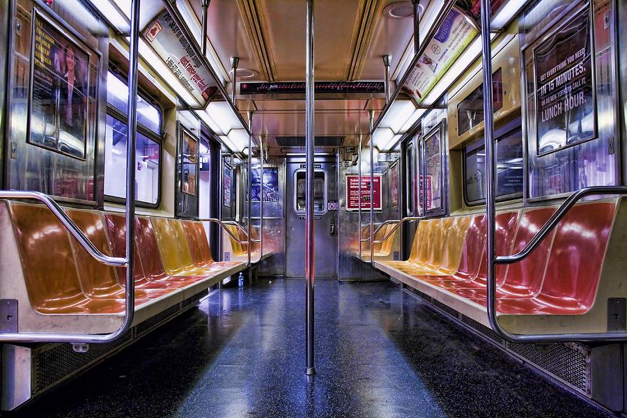 Nyc Subway Photograph