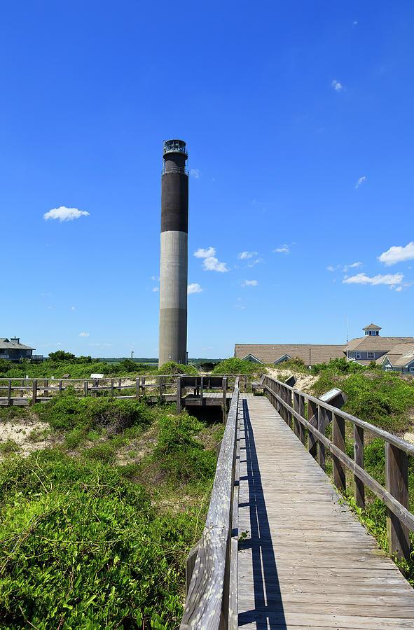 Oak Island Lighthouse In Nc Photograph
