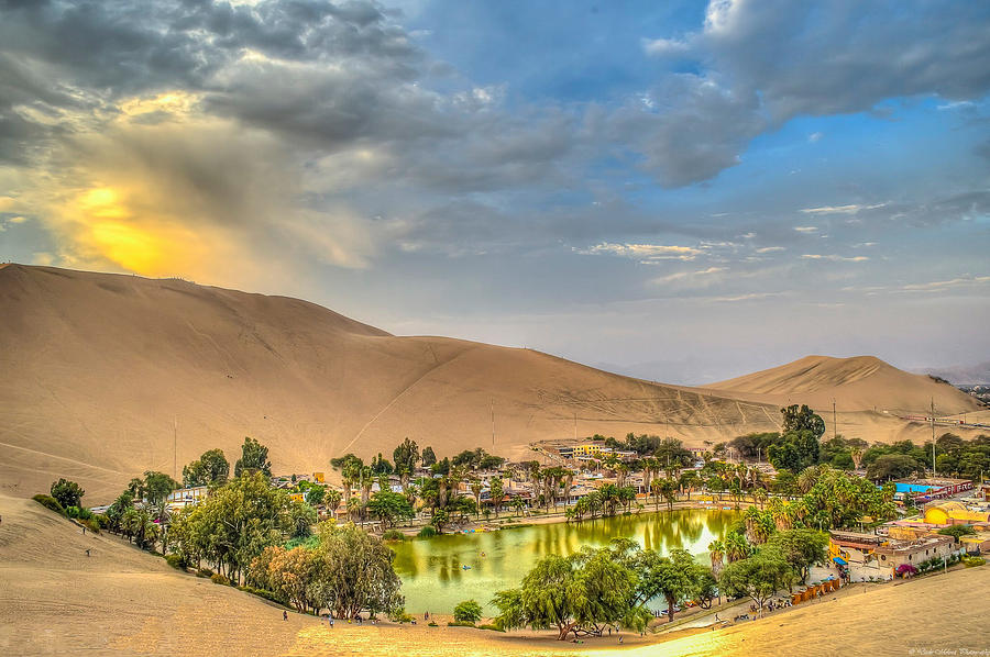 Huacachina Photograph - Oasis by Dado Molina