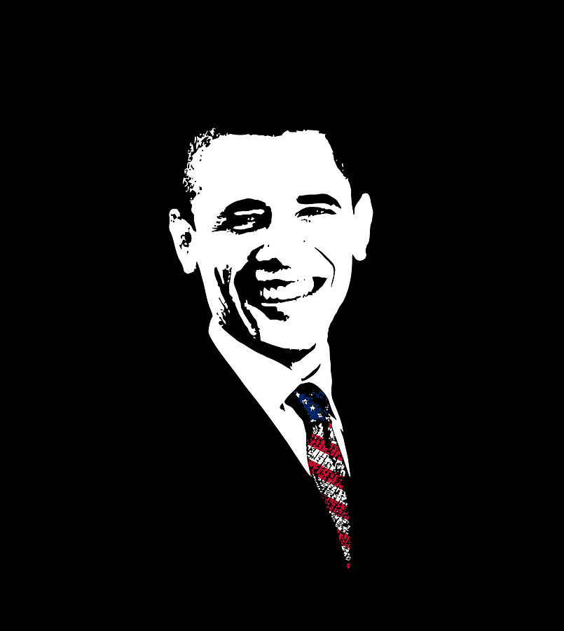 Obama Digital Art
