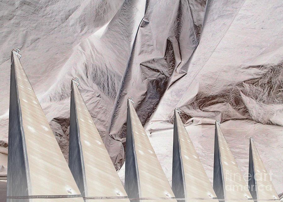 Obelisks Aligned Digital Art