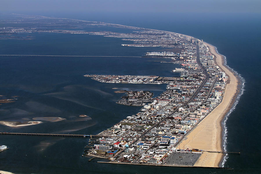 This image of Ocean City Maryland : thalassophobia