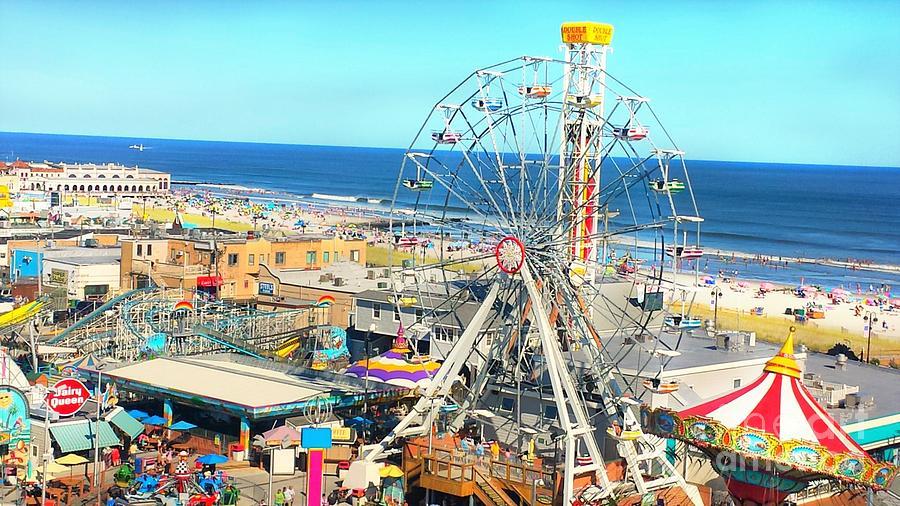 Ocean City Nj Beach Boardwalk