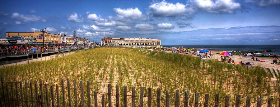 Ocean City Nj Photograph - Ocean City Panorama by John Loreaux
