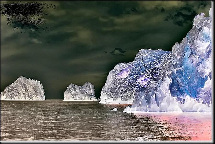Ocean View  Digital Art