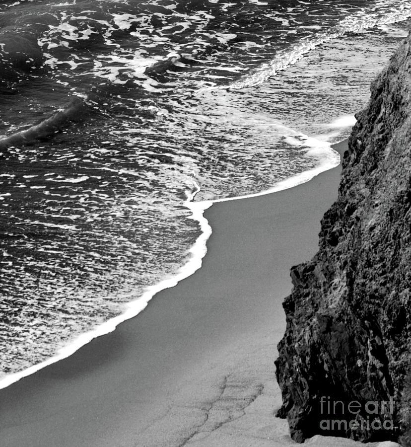 Ocean Wave On Shore Photograph