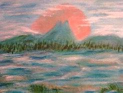 Water Painting - Ode To Mario by Betty Abrams