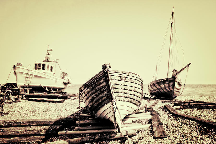 Toned Photograph - Of Different Eras by Meirion Matthias