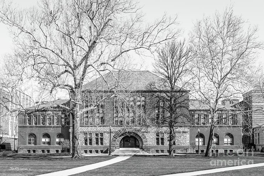 Ohio State University Photograph - Ohio State University Hayes Hall by University Icons