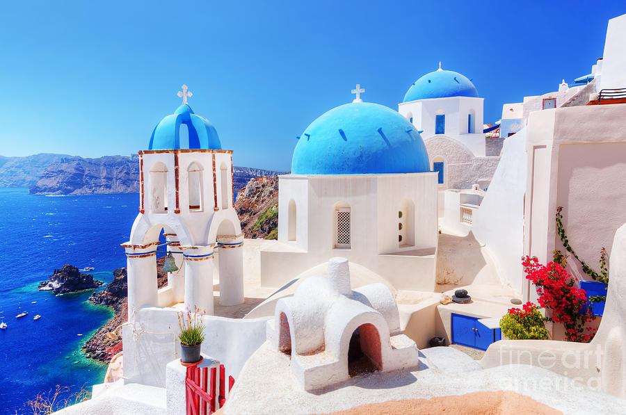 Неделя на самом романтичном острове Греции - Санторини