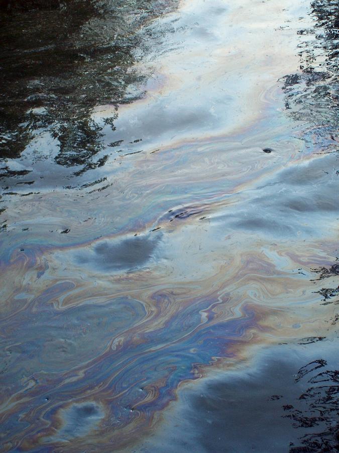 Oil Slick Photograph