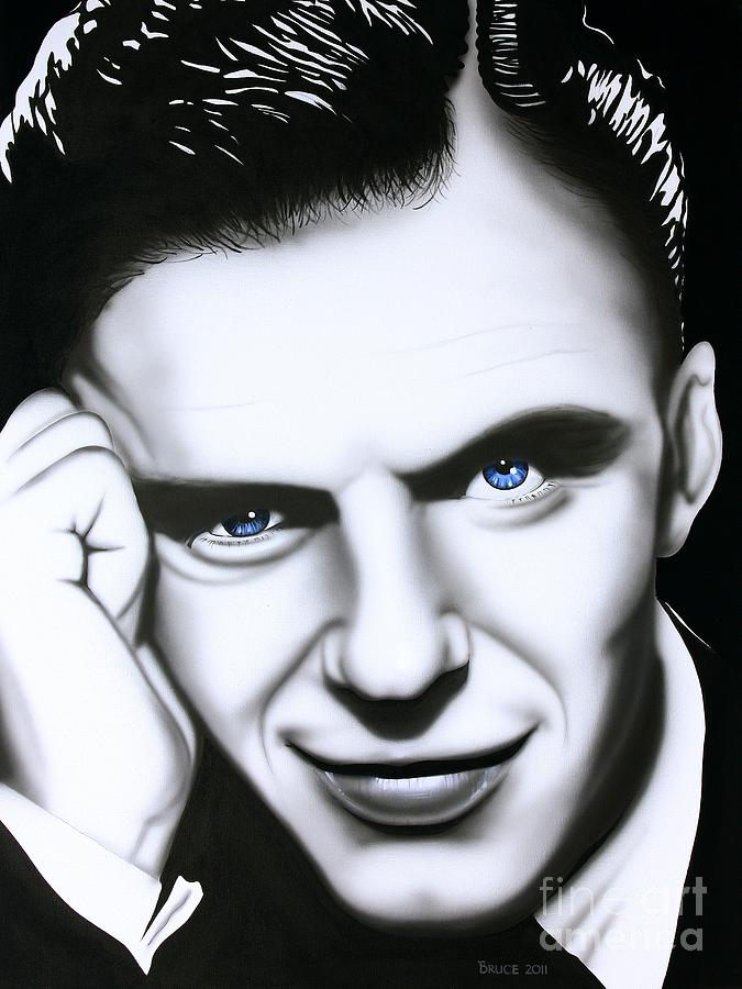Frank Sinatra Painting - Ol Blue Eyes by Bruce Carter