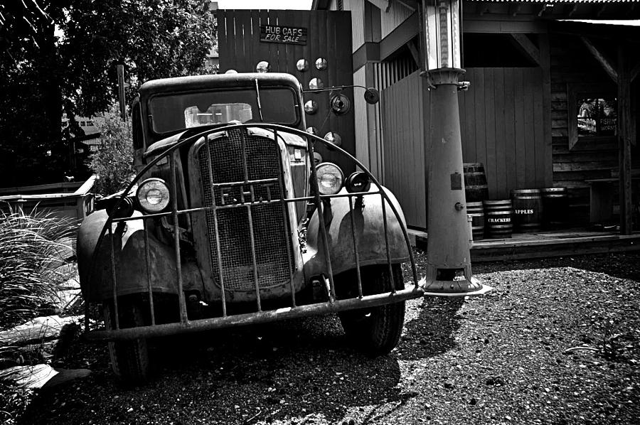 Old Cars Digital Art