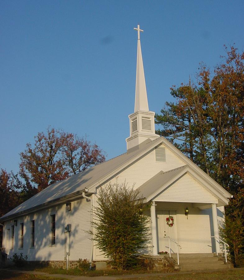 Old Country Church Photograph