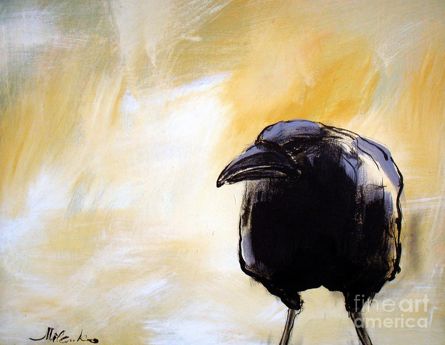 Old Crow Painting