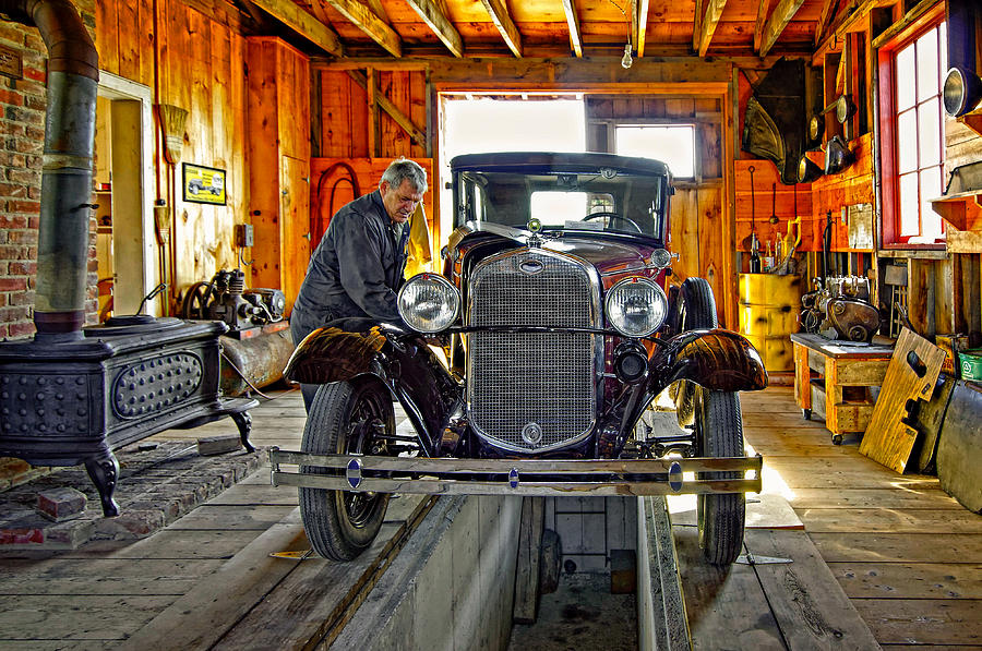 Oil Photograph - Old Fashioned Tlc by Steve Harrington