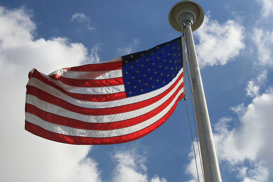 Flag Photograph - Old Glory 2 by Bob Gardner