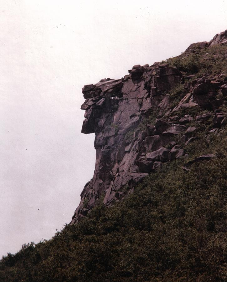 Old Man Of The Mountain Photograph - Old Man Of The Mountain by Wayne Toutaint