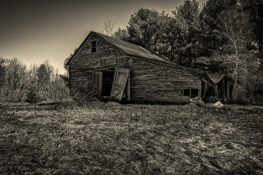 Old new england barn photograph by bob orsillo for New england barns for sale