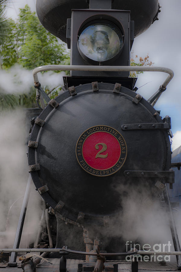 Old Number 2 Blowing Some Steam Photograph