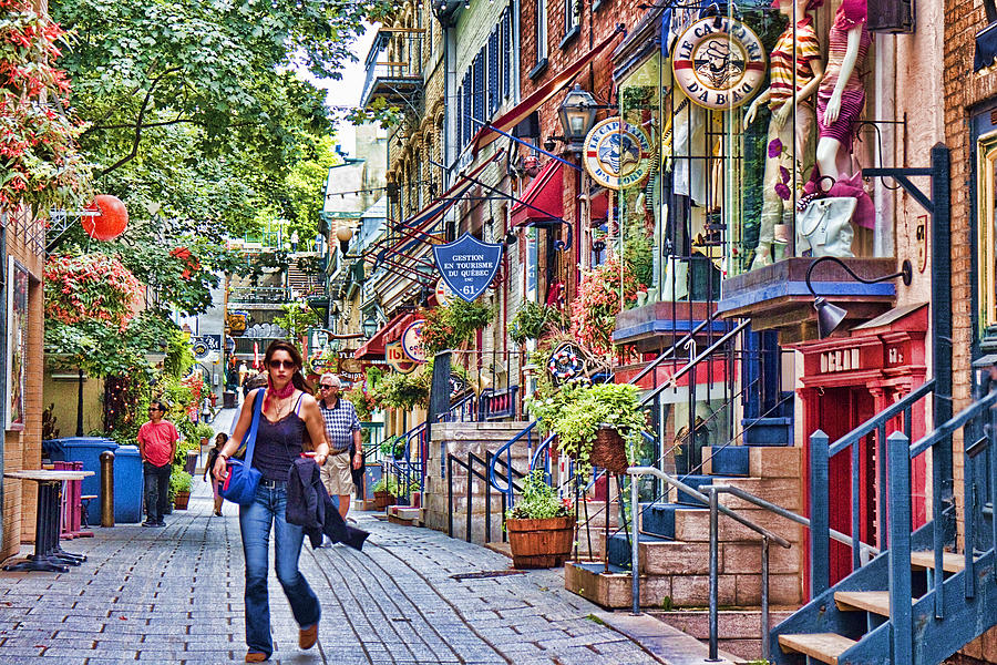 old quebec city photograph by david smith