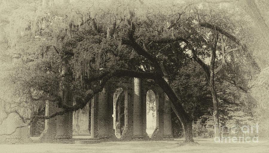 Old Sheldon Church Historic Site Photograph