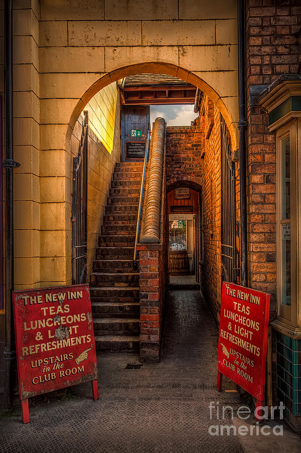 Architecture Photograph - Old Signs by Adrian Evans