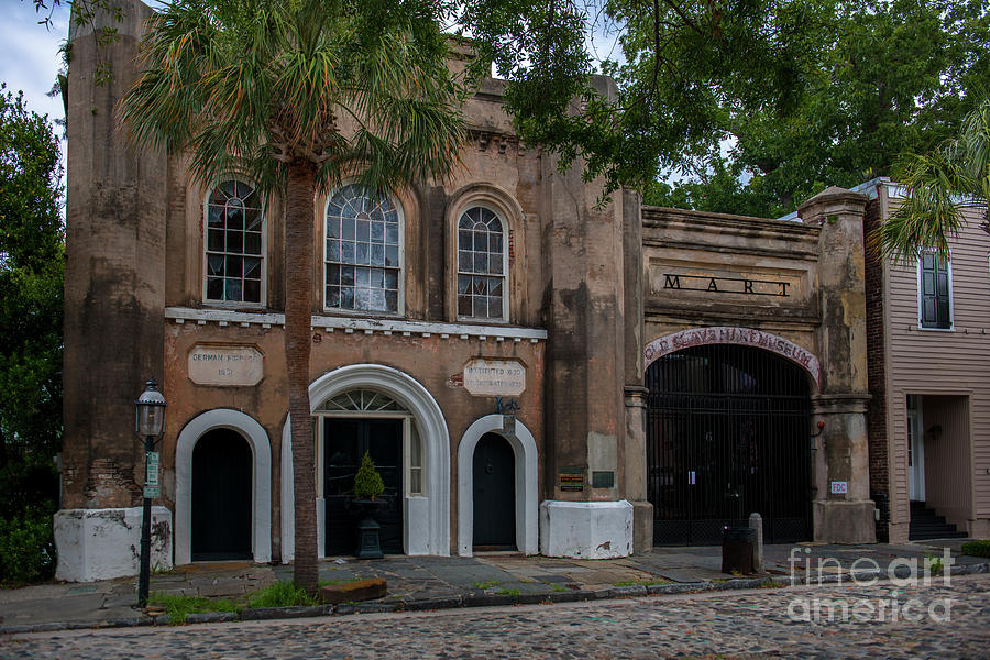 Old Slave Mart Museum In Charleston South Carolina Photograph