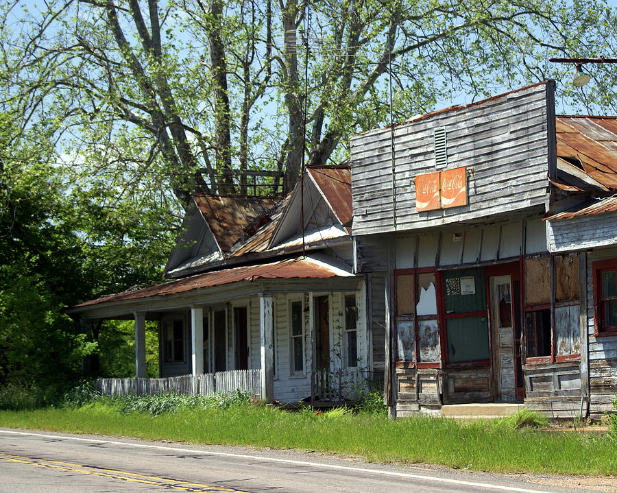 Arkanssa Photograph - Old Store by Marty Koch