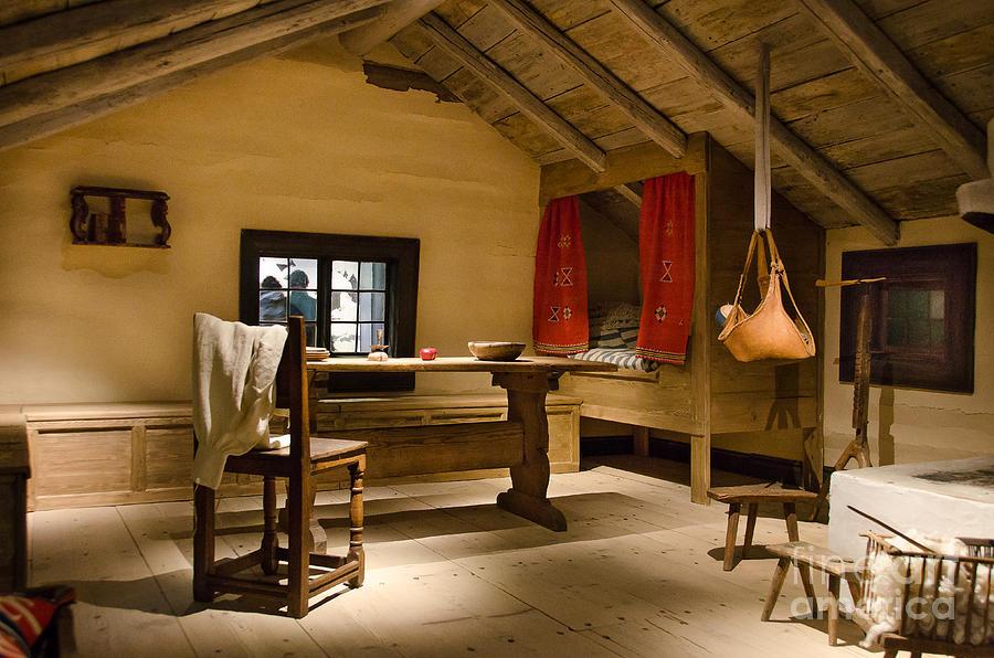 Old Swedish Farm House Interior Photograph By Ricardmn