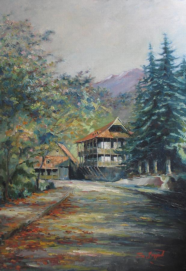 Armenia Painting - Old Town Dilijan by Tigran Ghulyan