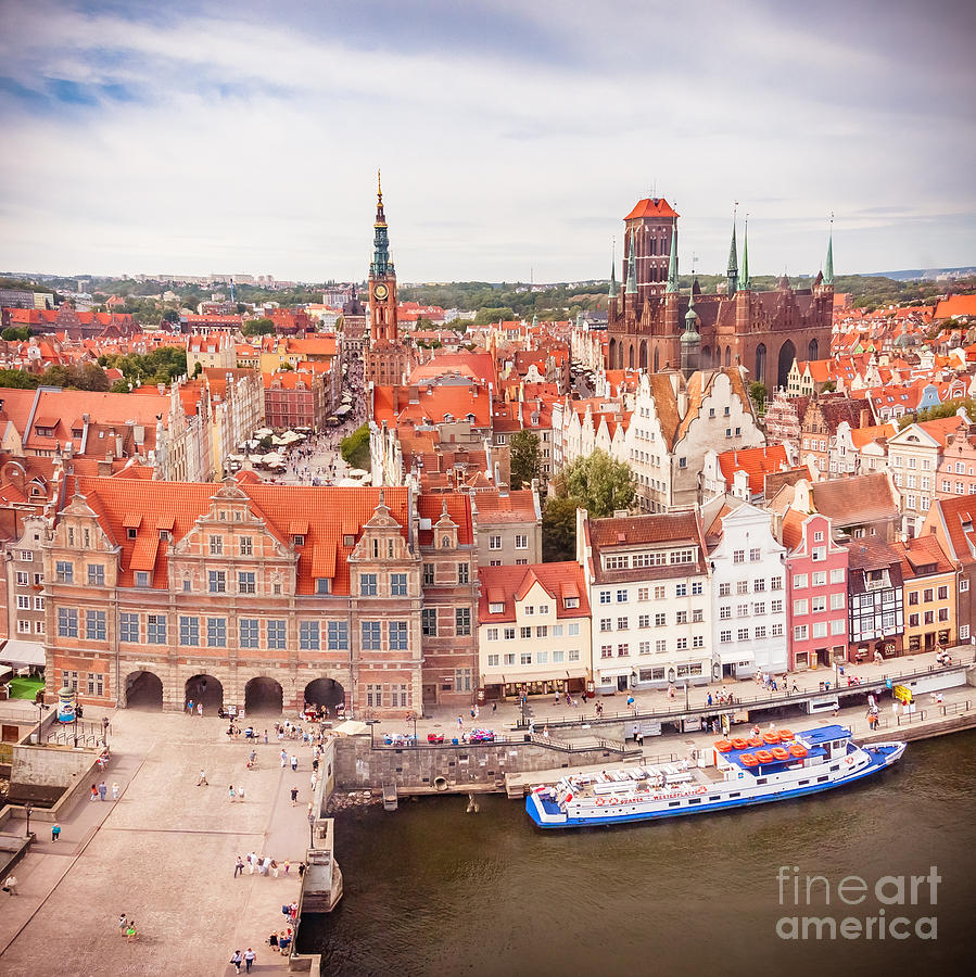 Old Town Gdansk Photograph