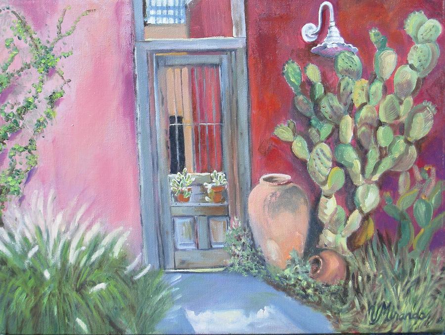 Metal Door Painting Tucson